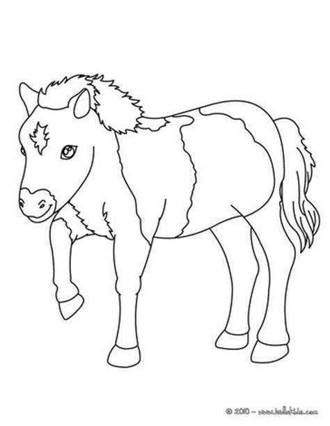 pony coloring pages hellokidscom