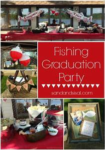 Fishing Graduation Party - Sand and Sisal