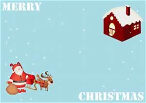 Free Vector and Printable Christmas Card Templates