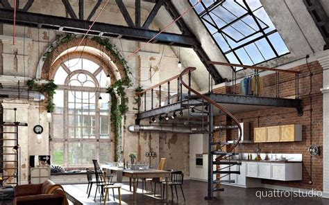 Rich Industrial Style Unites Colours With Exposed Brick Walls by 113 Best Lofts Images On Architecture
