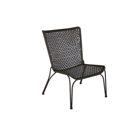 hton bay arthur all weather wicker patio stack chair