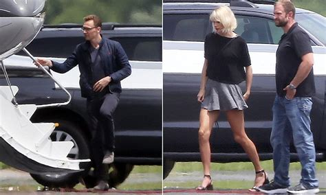 Taylor Swift Whisks Tom Hiddleston Off On Her Private Jet
