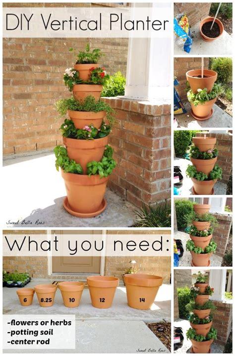 diy vertical planter home design garden architecture