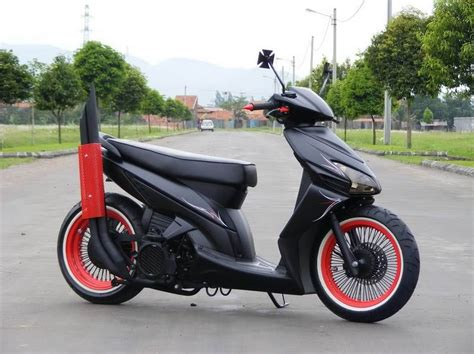 Modif Motor Matic by Modifikasi Motor Matic Vario Rot