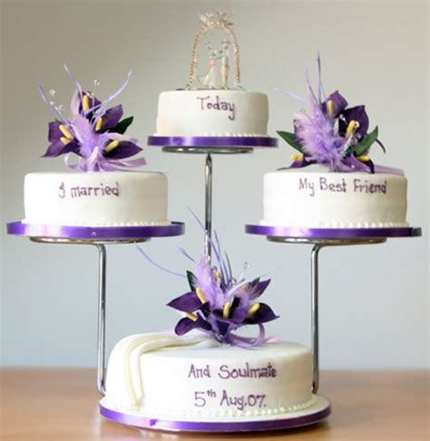 tiered cake stands ideas  pinterest plate