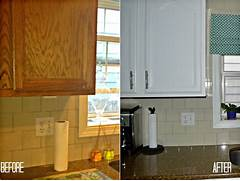Classic Casual Home Painted Kitchen Cabinets Before And After Painted Kitchen Cabinets Before And After Chalk Painted Kitchen Cabinets Before And After Kitchen Cabinets Before And After Left Side