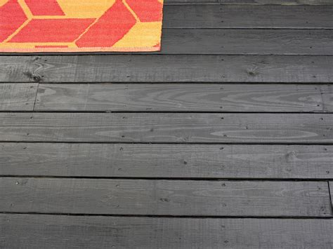 Quick Deck Tiles by How To Stain A Wooden Deck Hgtv
