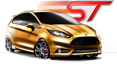 2018 Ford Fiesta St Concepts