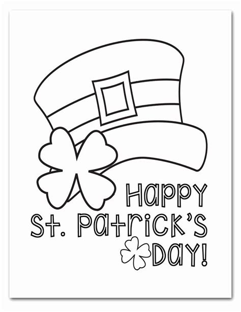 Today we have a fun collection of printable ocean coloring pages! 32 Saint Patrick Coloring Page in 2020   Coloring pages ...