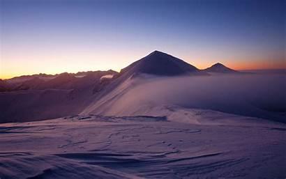Desert Mountain Peak Sunset Sand 4k Ultra