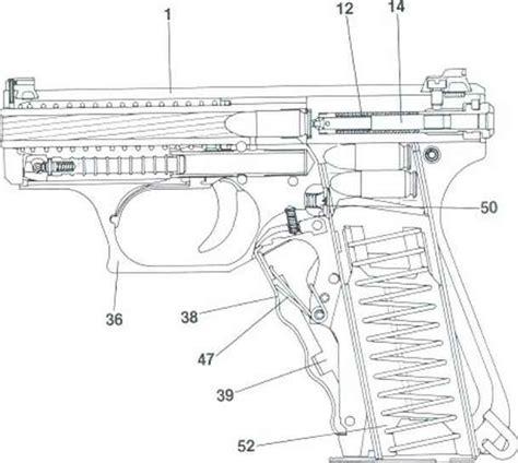 heckler koch hk p psp pm pistol parts kits  accessories