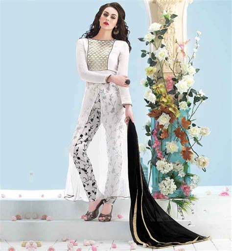 Boat Neck Indian Suits by Boat Neck Designs Salwar Kameez For Indian Vdhel7061