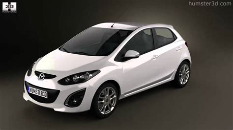 Mazda 2 (demio) 5-door R 2013 By 3d Model Store Humster3d