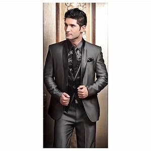 2017 Wedding Tuxedos for Men Modern Best man Suit Grey ...