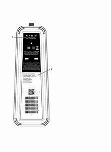 Dg3450 Digital Gateway Modem User Manual User Guide Arris
