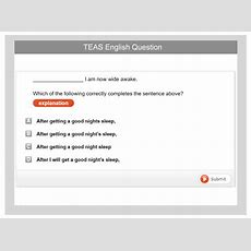 Ati Teas English Test Preparation Pack 2018 Testpreponline