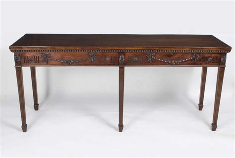 vintage console tables for antique hepplewhite style mahogany console table c 1900 8826