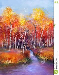 fond colore de paysage d39automne de peinture a l39huile With toute les couleurs de peinture 0 peinture amour dautomne