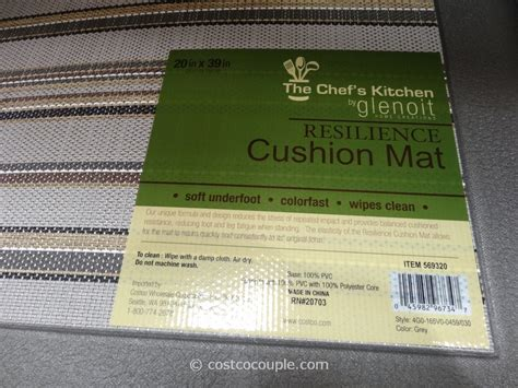 Kitchen Cushion Floor Mat Canada by The Chef S Kitchen Resilience Cushion Mat