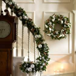 decorate your banister essential christmas decorations housetohome co uk