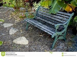 Banc De Jardin Bois : banc de jardin photo libre de droits image 770715 ~ Dode.kayakingforconservation.com Idées de Décoration