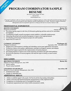 Reasons To Live Template Program Coordinator Resume Template Code Pinterest