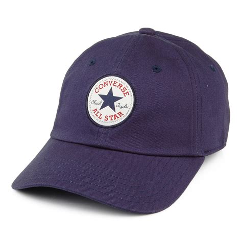 Baseball Cap by Converse Tipoff Baseball Cap Blue From Hats
