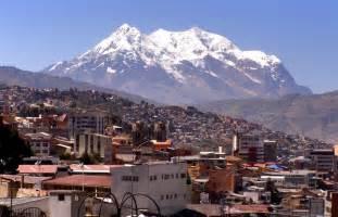 La Paz Bolivia City