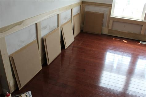 Wainscoting Wood Panels by Our Home From Scratch