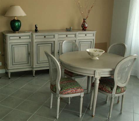 cuisine peinte en gris mobilier merisier style louis xvi lafeuillade