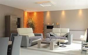 Deco Pour Salon : idee deco salon salle a manger peinture 42946 ~ Teatrodelosmanantiales.com Idées de Décoration