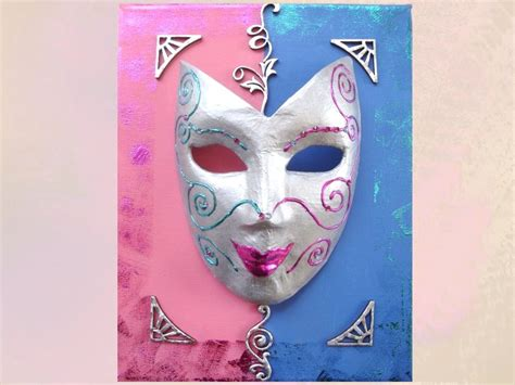decorer un masque de carnaval tutoriels de loisirs cr 233 atifs femme2decotv