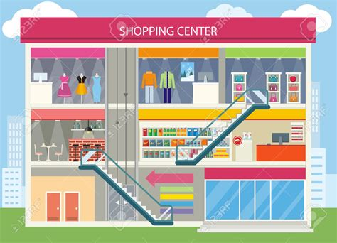 Mall Clipart Shopping Mall Clipart Clipground
