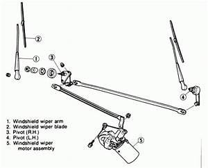 Windshield Wiper Parts Diagram