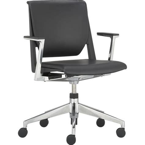 crate and barrel hughes office chair black office chair black office and office chairs on