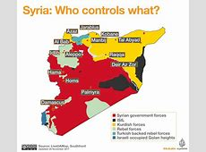 Conflict Mapping and the Syrian Civil War – Conflict