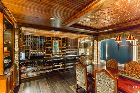 Basement Wine Tasting Room Home Decor Photos Gallery