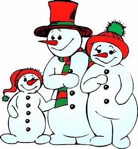 Snowman clipart border free images - Clipartix