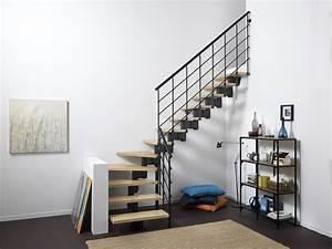 Escalier 1 4 Tournant Droit : escalier droit et 1 4 tournant olbia escaliers l 39 echelle europ enne ~ Dallasstarsshop.com Idées de Décoration
