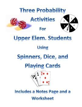 probability activities for upper elementary students by carrie reed