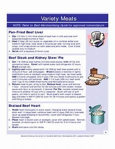 Pork Cutting Instruction Form