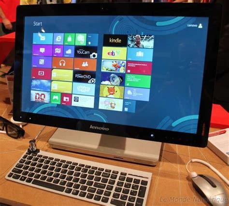 ordinateur de bureau 27 pouces ifa 2012 lenovo ideacentre a520 le tout en un petit