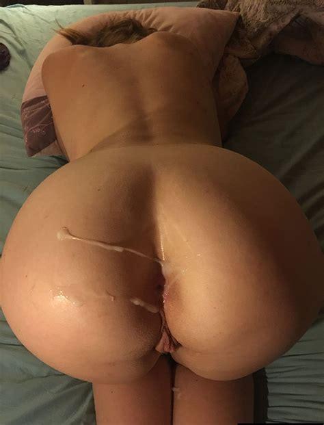 Warm Jizz On Her Fuckable Ass Porn Pic EPORNER