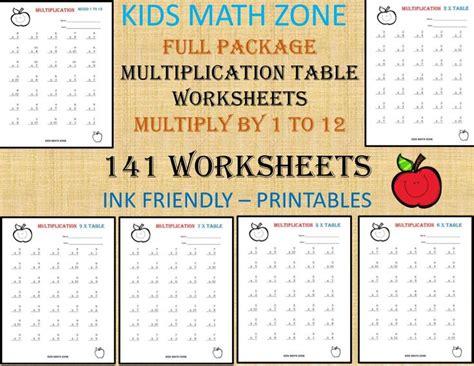 multiplication printable worksheets   grade