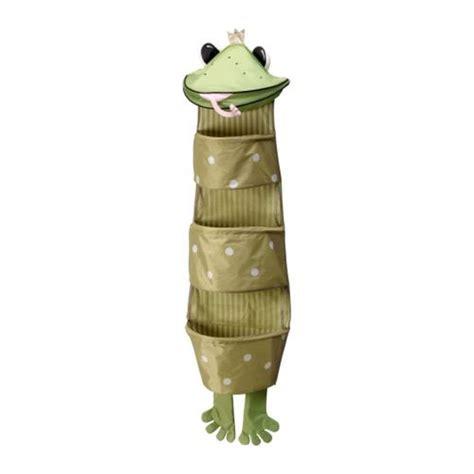 ikea fabler groda frog prince wall pocket organizer kids