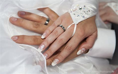 A wedding handfasting ceremony is when the couple combines their hands, traditionally right hand preparing the vows (samples below). Wedding Rings On Hands 0765 : Wallpapers13.com