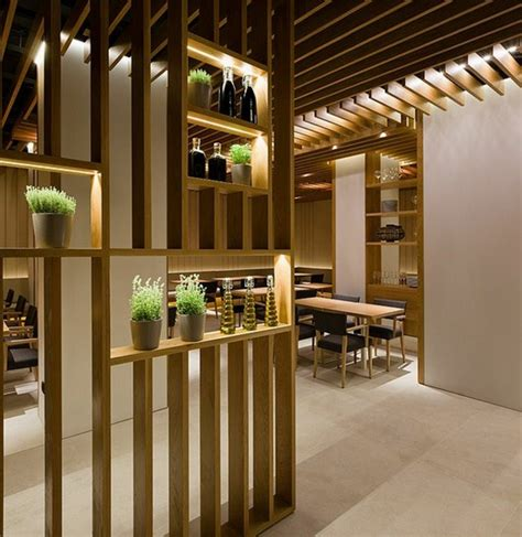 great designs from the room divider made of wood decor10