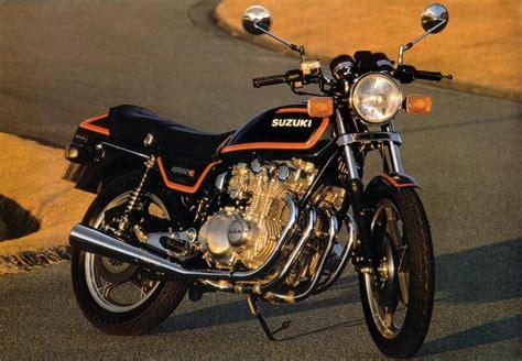 1981 Suzuki Gs550 1981 suzuki gs 550 e moto zombdrive