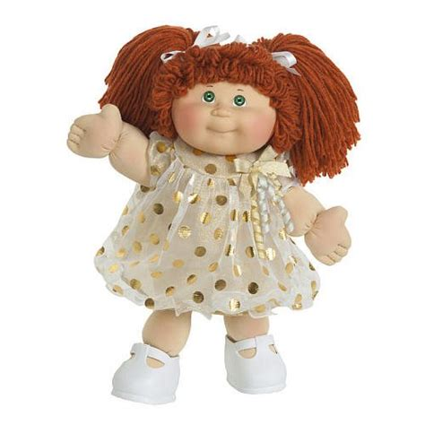 Vintage Cabbage Patch Kids 16 inch Classic Doll Red Hair