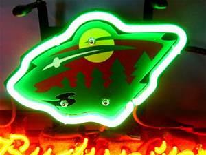Wiki Neon Sign Blog Budweiser Bud Light NHL MINNESOTA